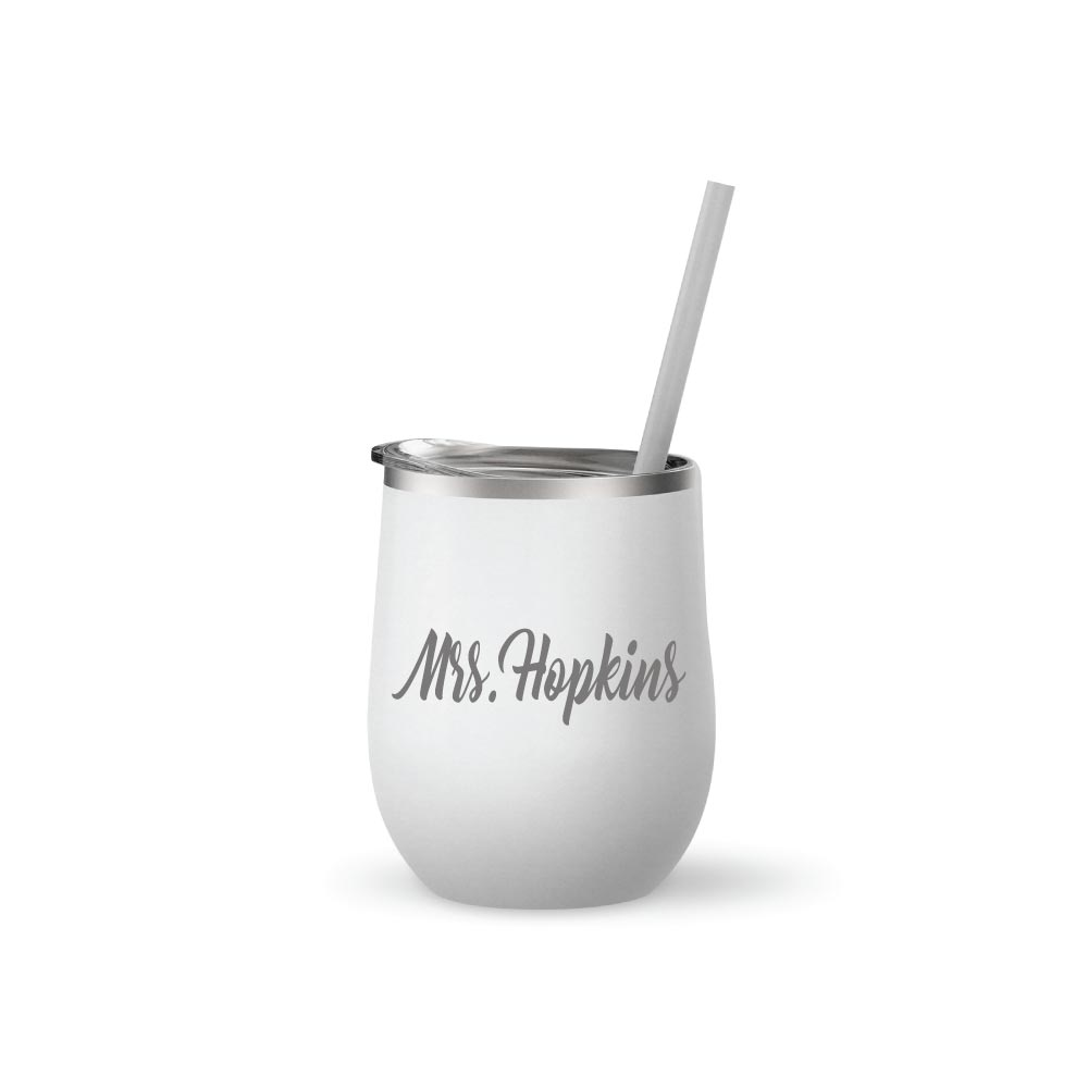 Teacher Appreciation 12 oz Tumbler Mug