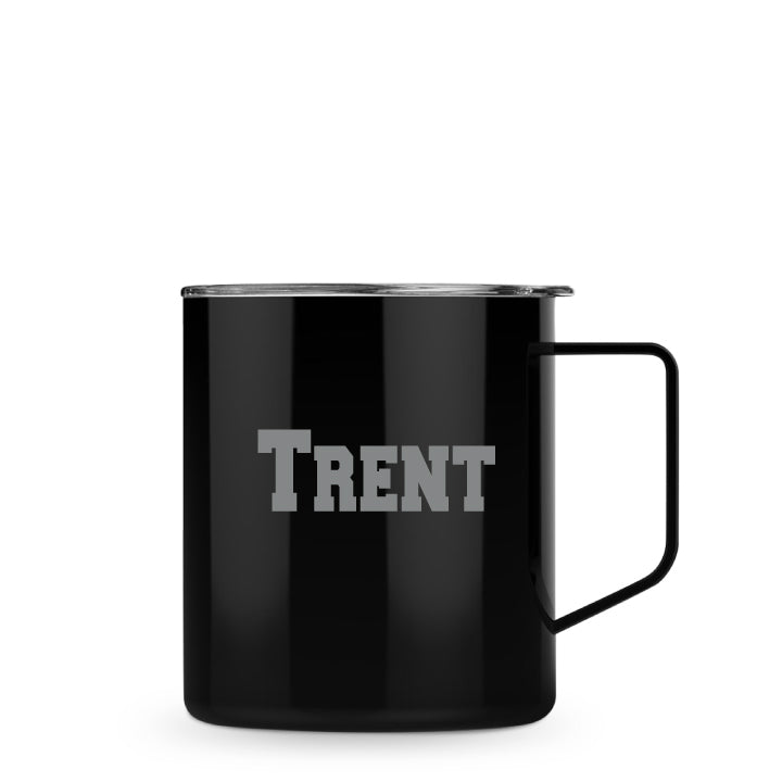 Townie Mug with Lid Featuring Personalized Engraved Name