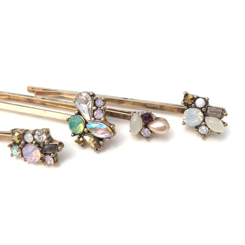 Vintage Embellished Hair Pins
