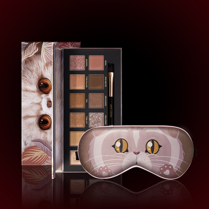 Perfect Diary Explorer Eyeshadow Palette Series 09 Cat