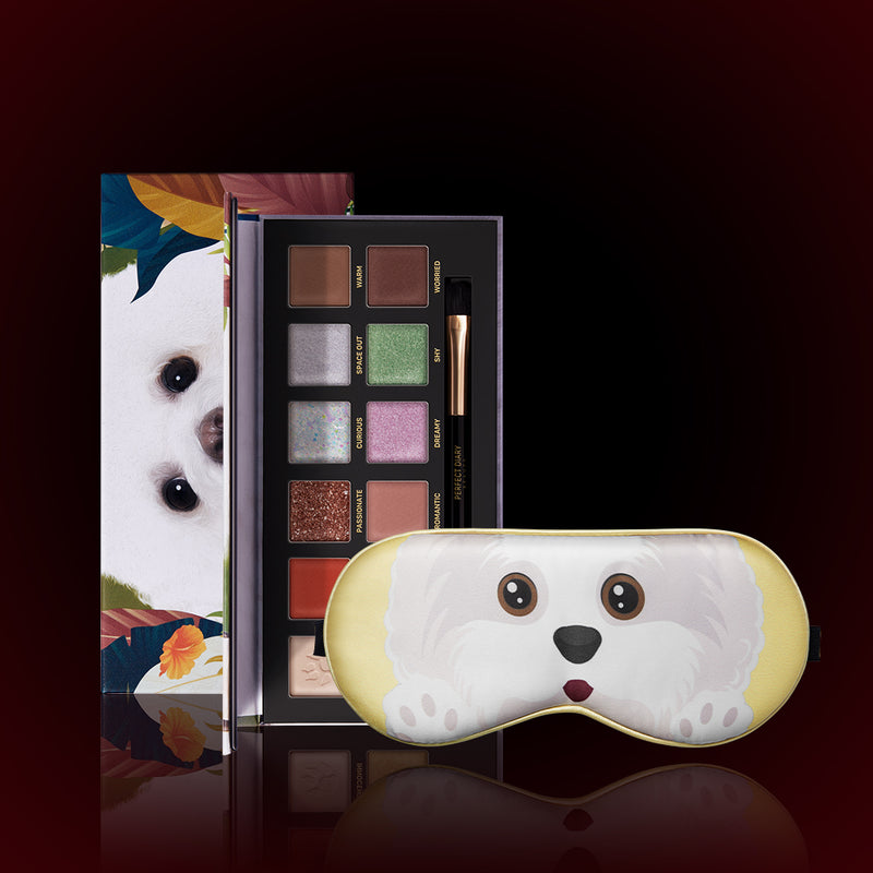 Perfect Diary Explorer Eyeshadow Palette 08 Puppy 08 Puppy