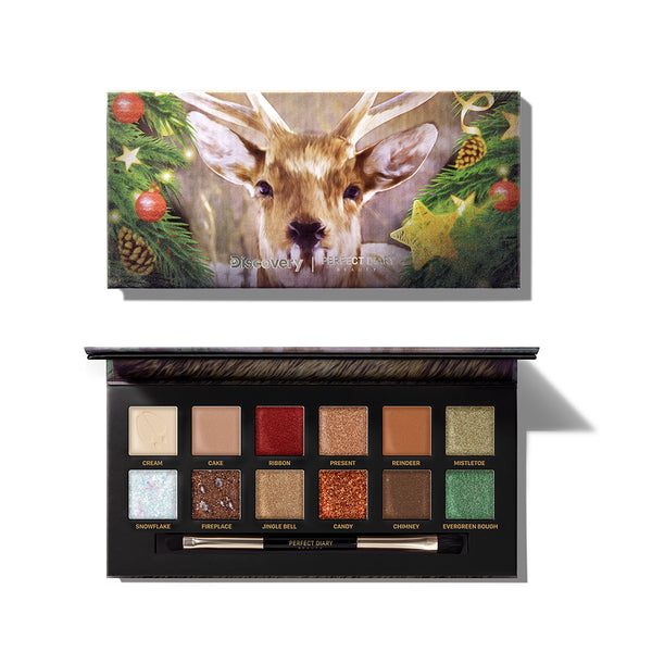 Perfect Diary Explorer Eyeshadow Palette 07 Sika Deer 07 Sika Deer