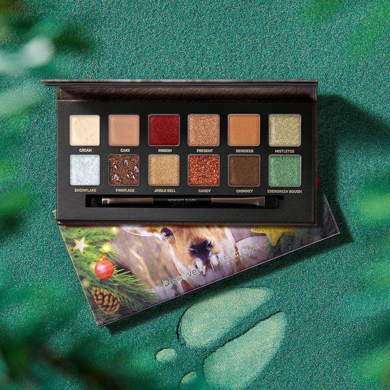 Perfect Diary Explorer Eyeshadow Palette 07 Sika Deer - PerfectDiary