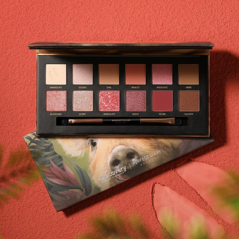 Perfect Diary Explorer Eyeshadow Palette 01 Piggy