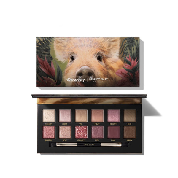 Perfect Diary Explorer Eyeshadow Palette 01 Piggy 01 Piggy