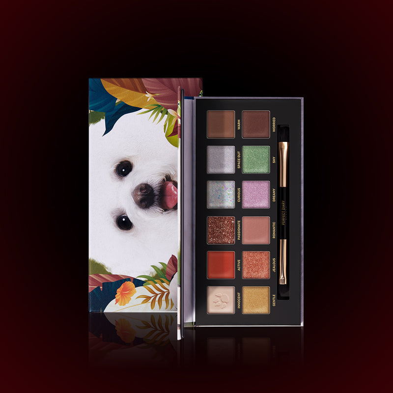 Perfect Diary Explorer Eyeshadow Palette 08 Puppy