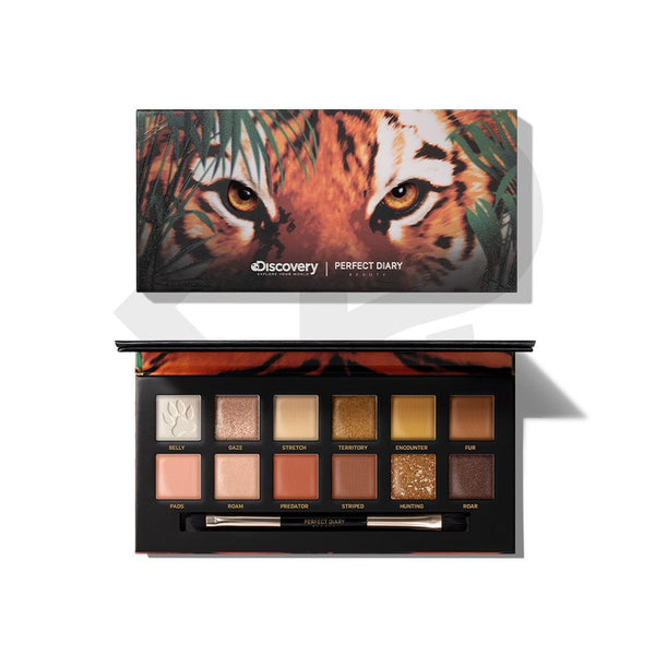 Perfect Diary Explorer Eyeshadow Palette 02 Tiger - PerfectDiary