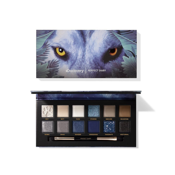 Explorer Eyeshadow Palette 04 Wolf - PerfectDiary Beauty