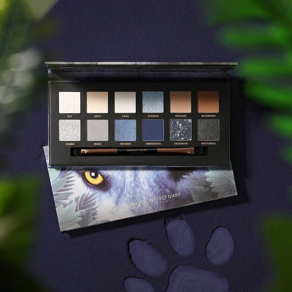 Perfect Diary Explorer Eyeshadow Palette 04 Wolf