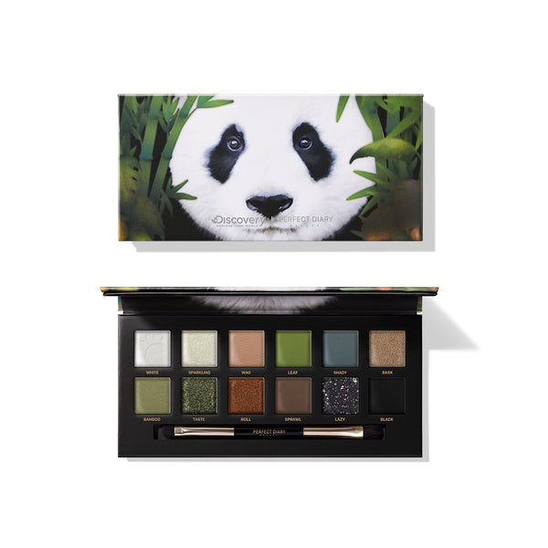 Explorer Eyeshadow Palette 06 Giant Panda - PerfectDiary Beauty