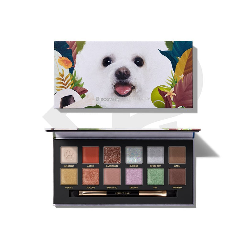 Perfect Diary Explorer Eyeshadow Palette 08 Puppy - PerfectDiary