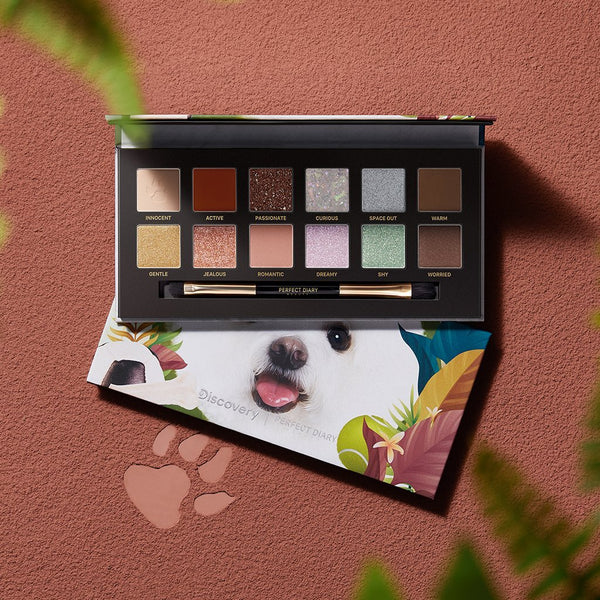 Explorer Eyeshadow Palette 08 Puppy - PerfectDiary Beauty