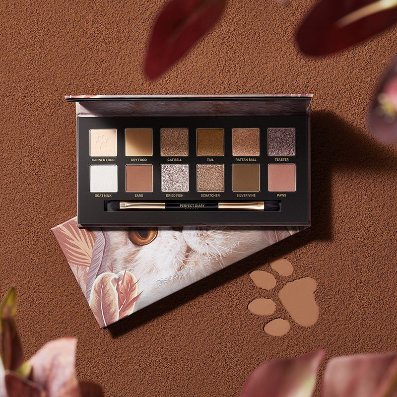 Explorer Eyeshadow Palette 09 Cat - PerfectDiary Beauty