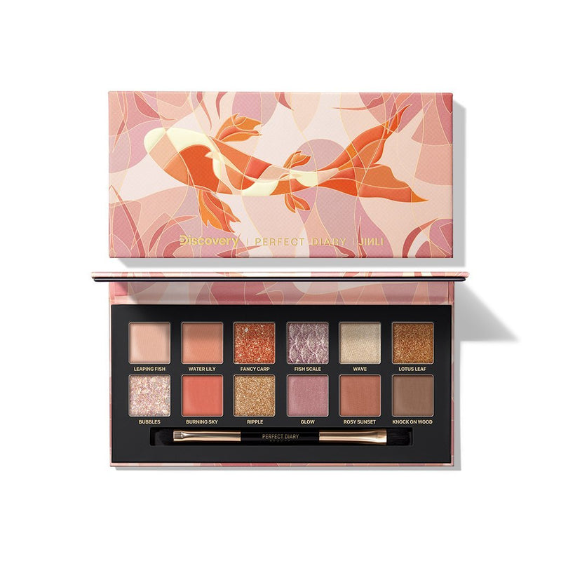 Perfect Diary Explorer Eyeshadow Palette 10 Fancy Carp - PerfectDiary