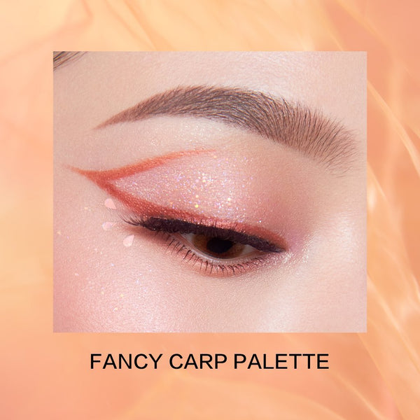 Explorer Eyeshadow Palette 10 Fancy Carp - PerfectDiary Beauty
