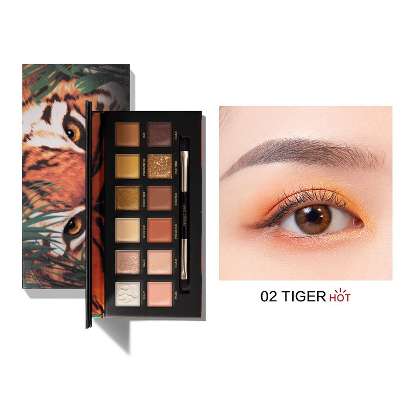 Perfect Diary Explorer Eyeshadow Palette Series 02 Tiger