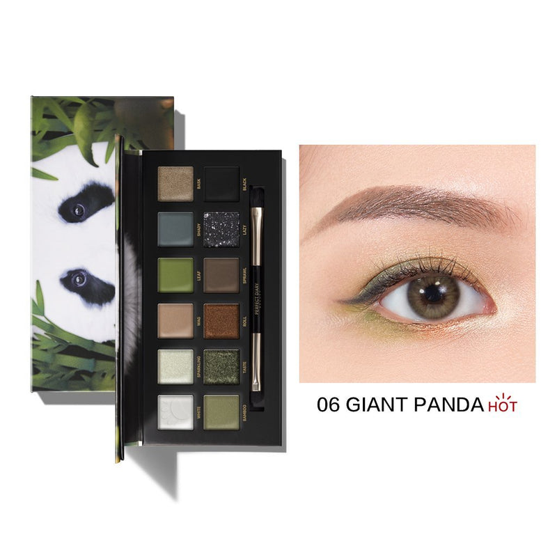 Perfect Diary Explorer Eyeshadow Palette Series 06 Giant Panda