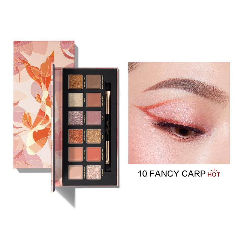 Perfect Diary Explorer Eyeshadow Palette Series 10 Fancy Carp