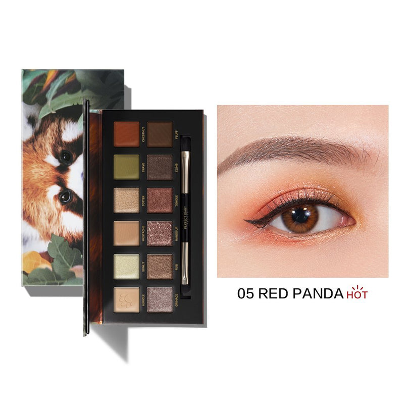 Perfect Diary Explorer Eyeshadow Palette Series 05 Red Panda