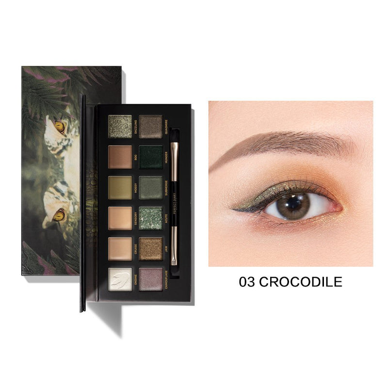 Perfect Diary Explorer Eyeshadow Palette Series 03 Crocodile