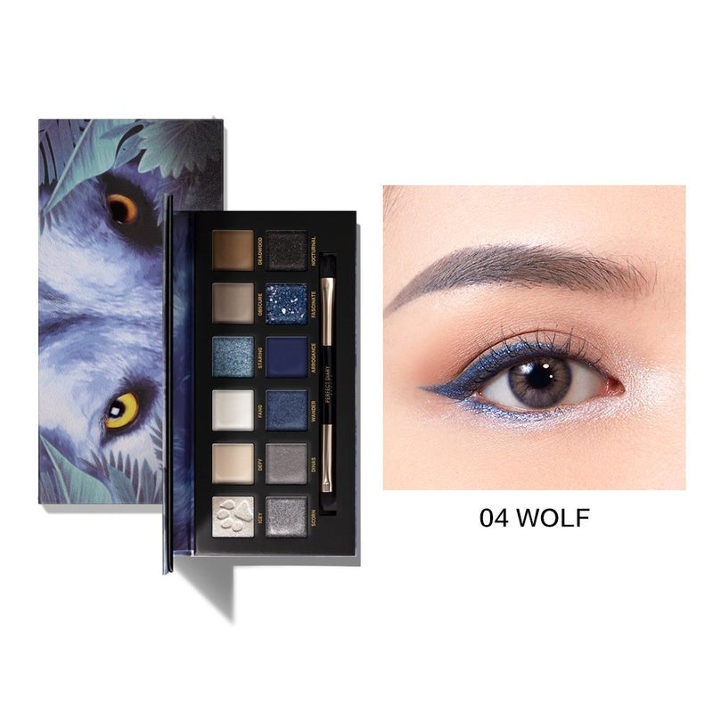 Perfect Diary Explorer Eyeshadow Palette Series 04 Wolf