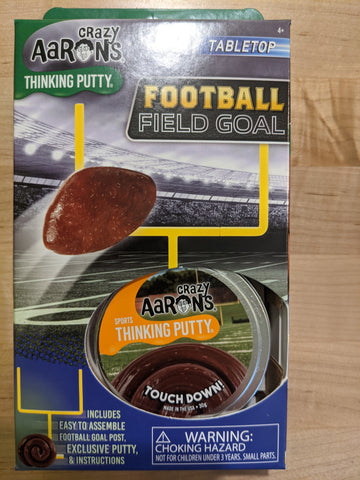Football Field Goal Putty
