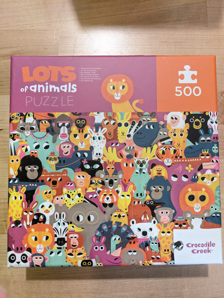 Lots of Animals Puzzle