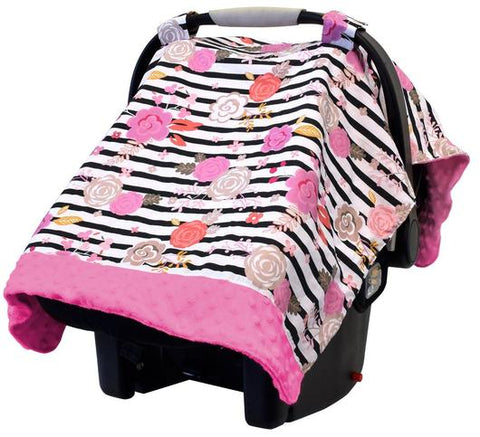 Itzy Ritzy Cozy Happens 2 in 1 Carseat Canopy