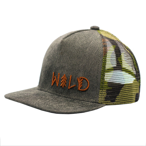 Wild and Free Snapback Hats
