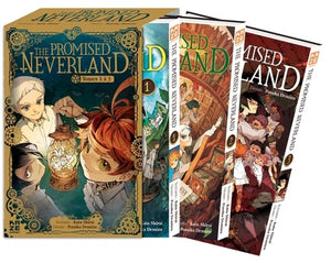 THE PROMISED NEVERAND PACK T01 A 03 COFFRET