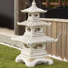 3 TIER PAGODA - Concrete Ornament