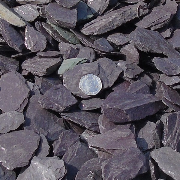 Blue Slate 40mm - Bulk Bag - 850kg