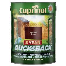 Cuprinol Fence Paint Autumn Brown 5L