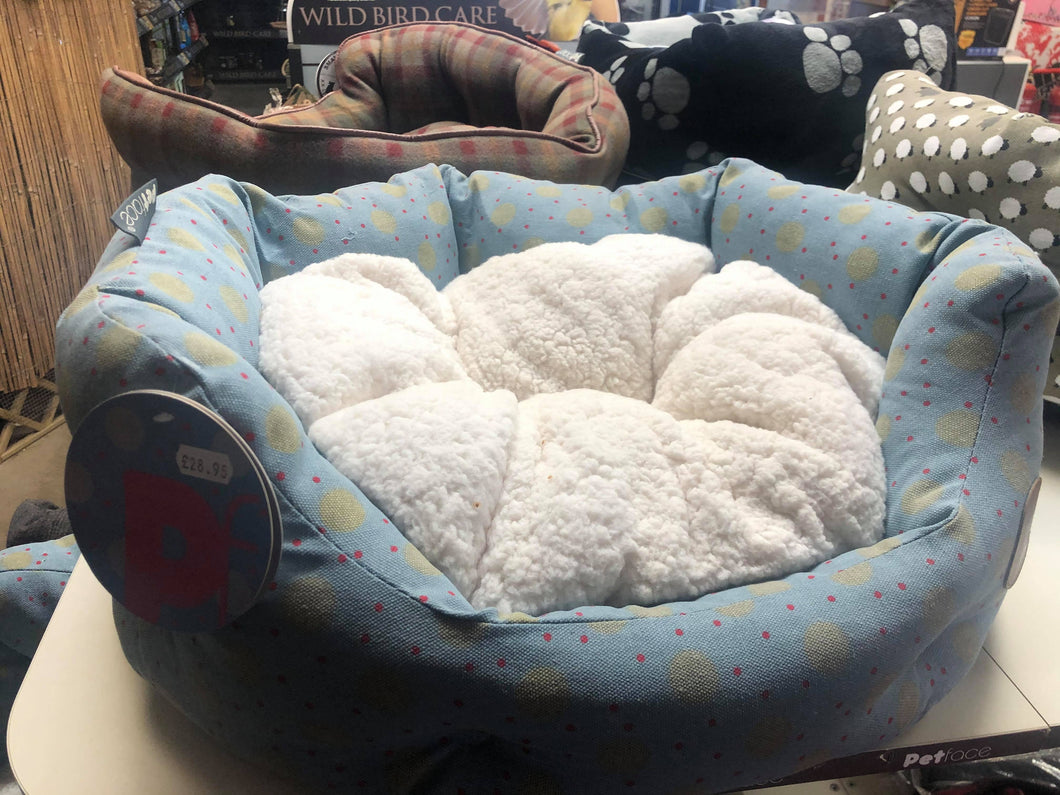 Dog Bed Spotty Small