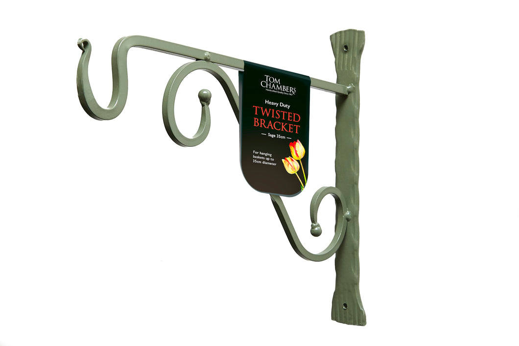 Twisted Bracket - Sage - 40cm