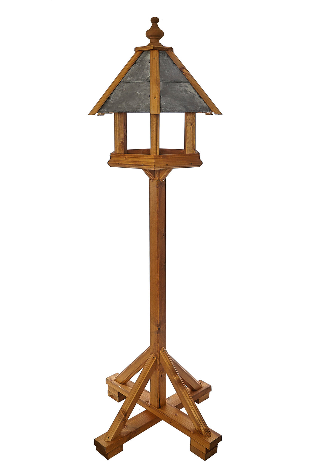Rosedale - Prestige Slate Roof bird Table