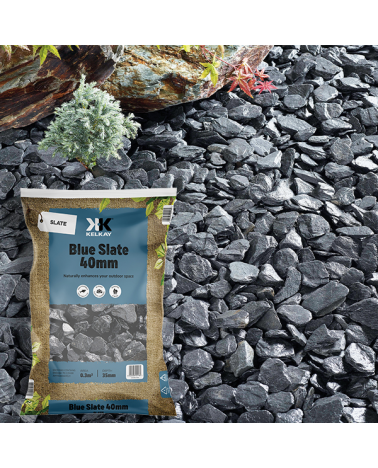 Blue Slate 40mm - Handy Bag - 20Kg