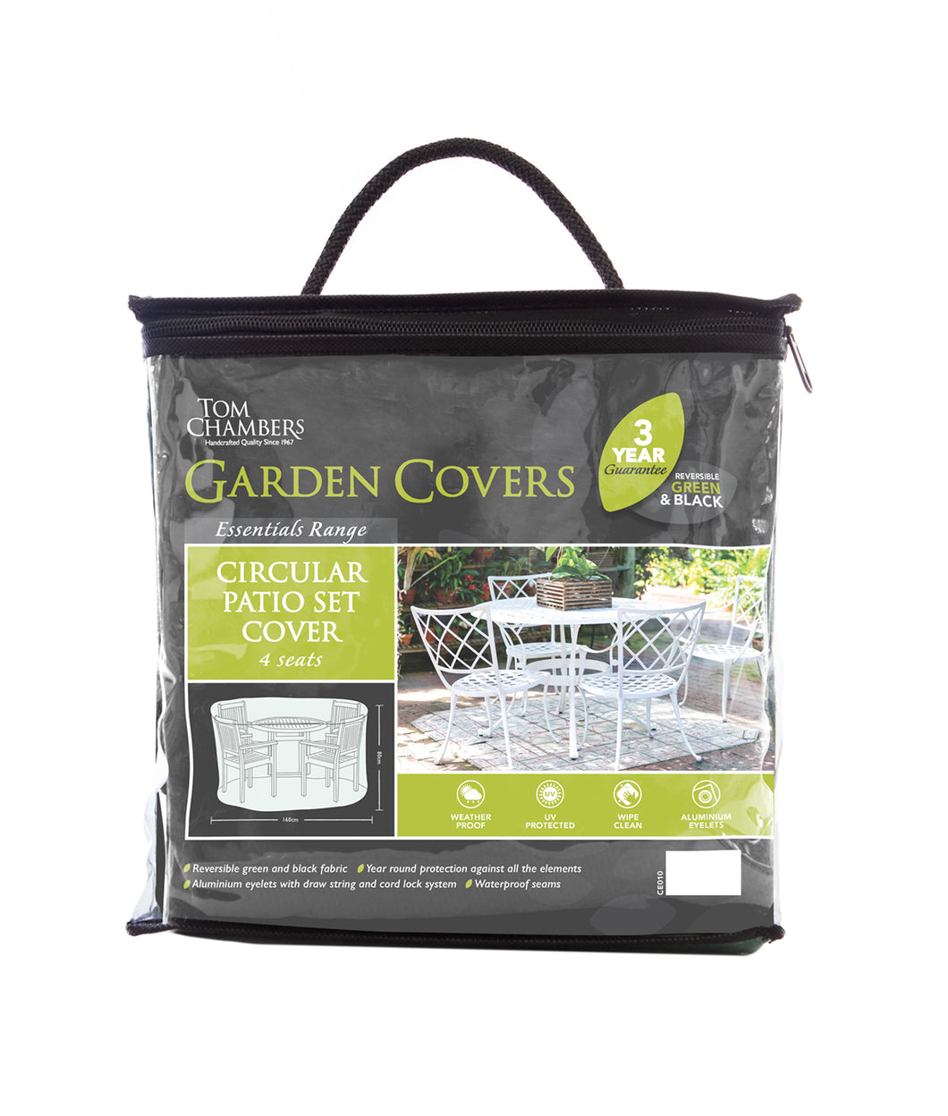 Circular Patio Set Cover - Essential - 4 Seat
