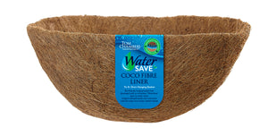 WaterSave Coco Fibre Liner to fit Hanging Basket - 35cm