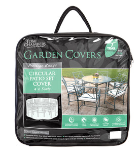 Circular Patio Set Cover - Prestige Grey - 4/6 Seat