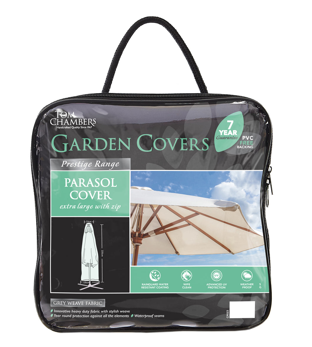 Parasol Cover - Prestige Grey - Extra Large