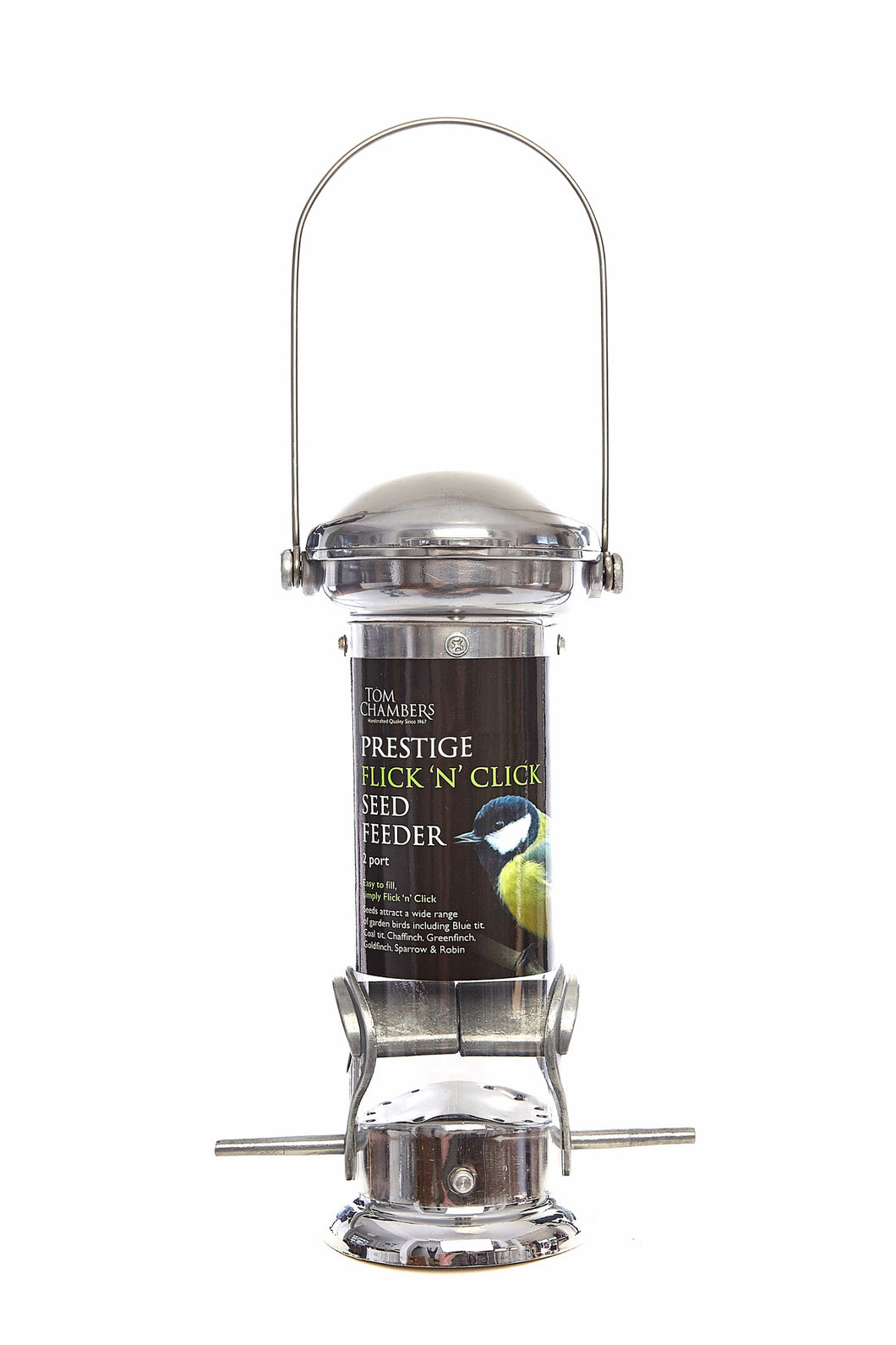 Prestige Flick 'n' Click 2 Port Seed Feeder