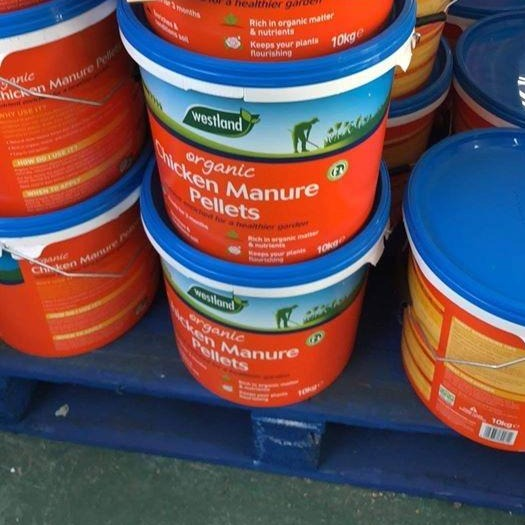 Organic Chicken Manure 10Kg Tub