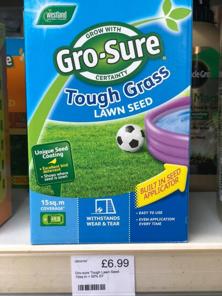 Gro-sure Tough Lawn Seed