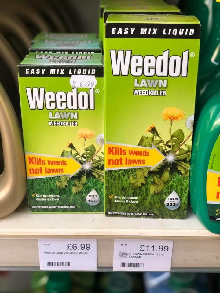 Weedol Lawn Weedkiller - Concentrate
