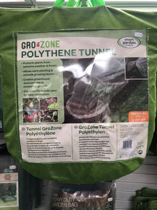 Gro Zone Polythene tunnel