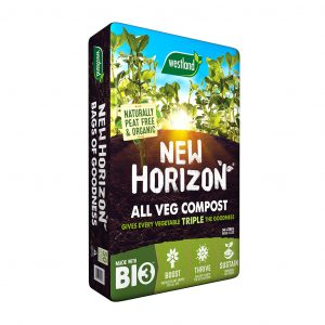 Westland New Horizon All Vegetable Growing Compost - 50ltr