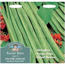RUNNER BEAN Lady Di - Seeds