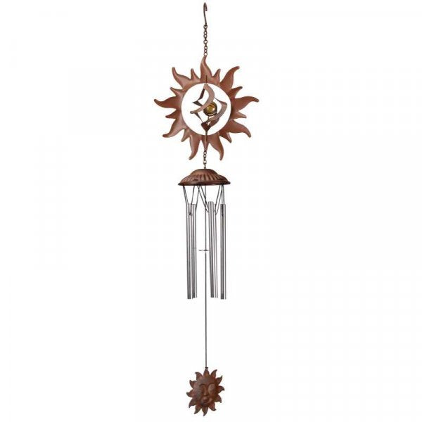 Rusty Sun Windchime