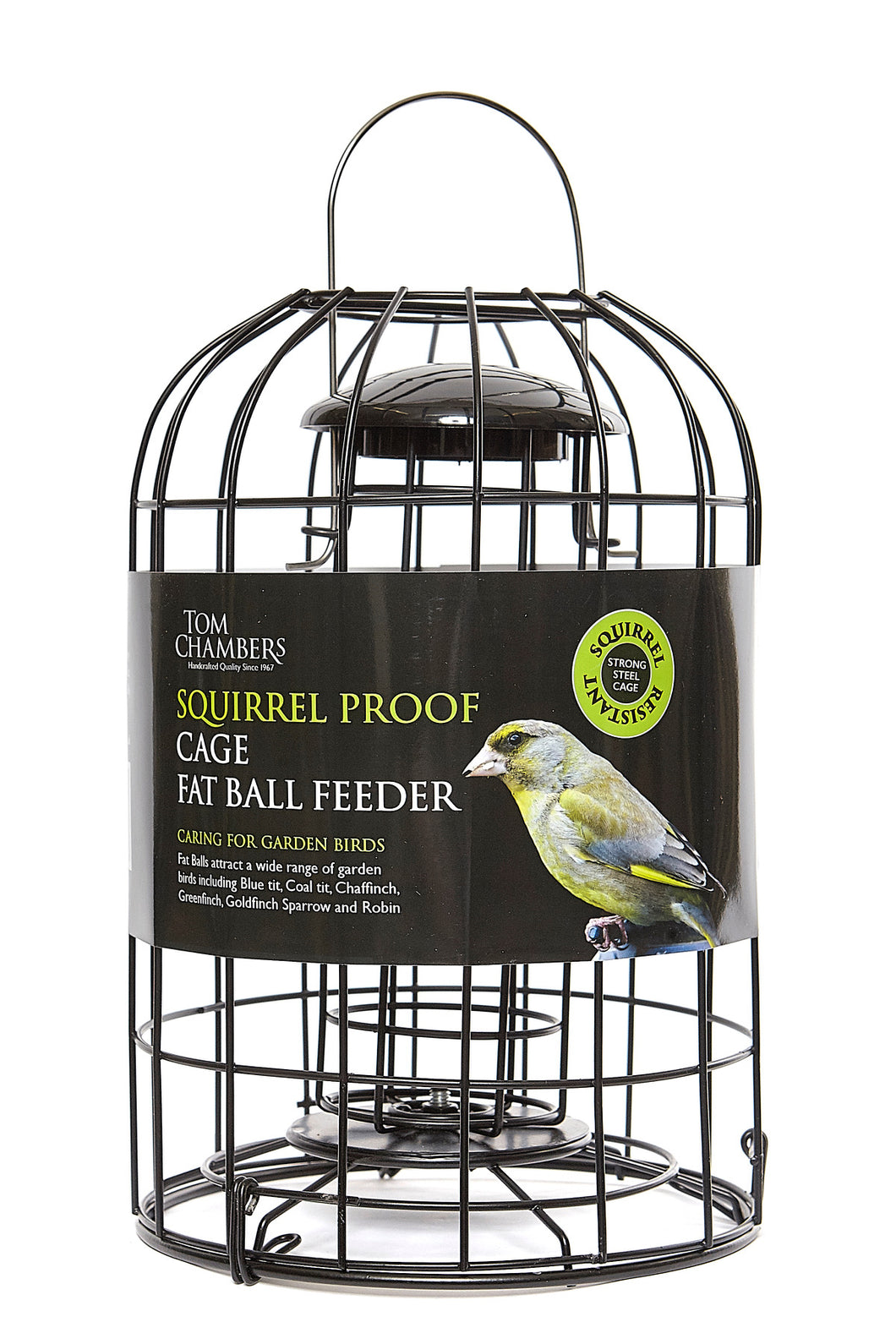 Squirrel Proof Cage Fat Ball Feeder